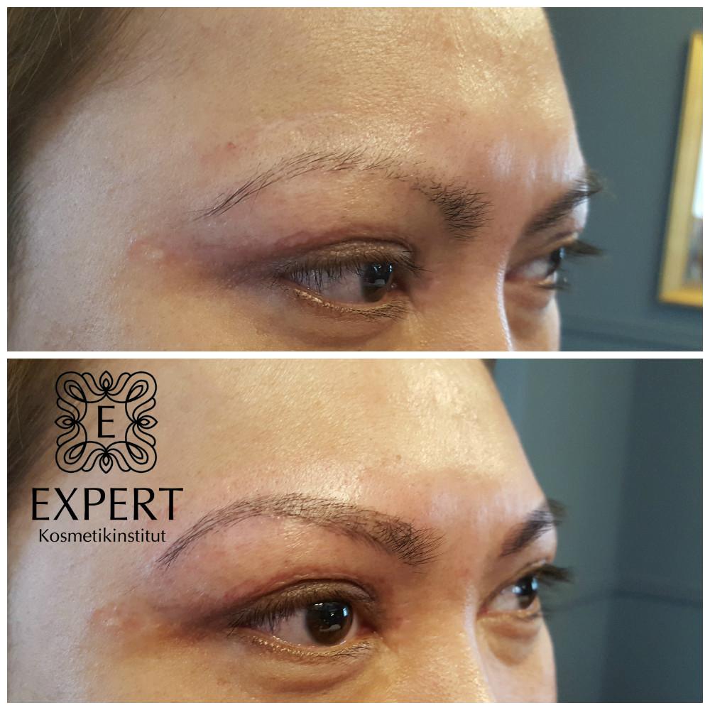 Permanent Make Up In Microblading Technik Kosmetikstudio In