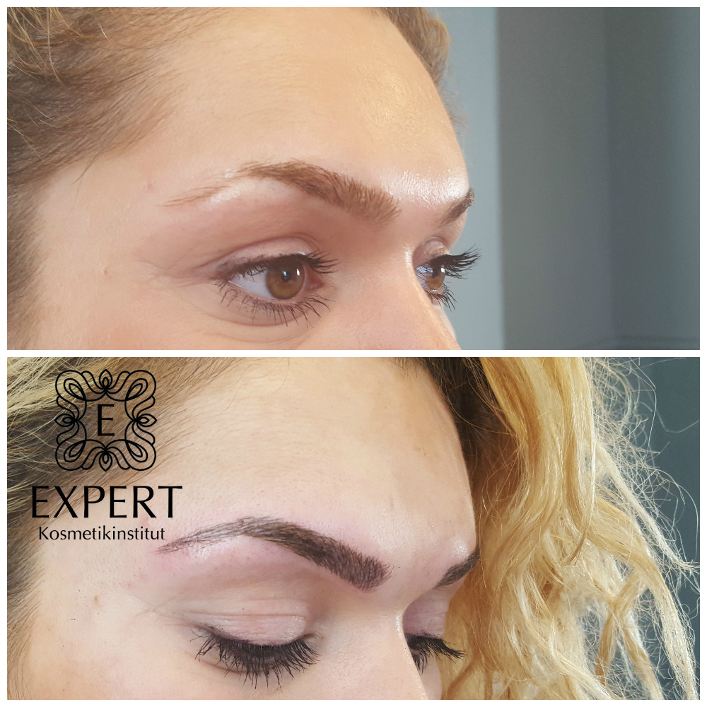 Permanent Make-up Augenbrauen Microblading 41