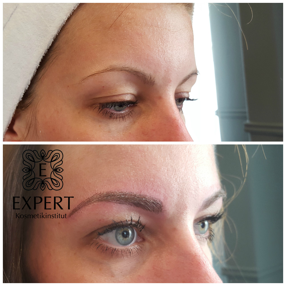 Permanent Make-up Augenbrauen Microblading 43