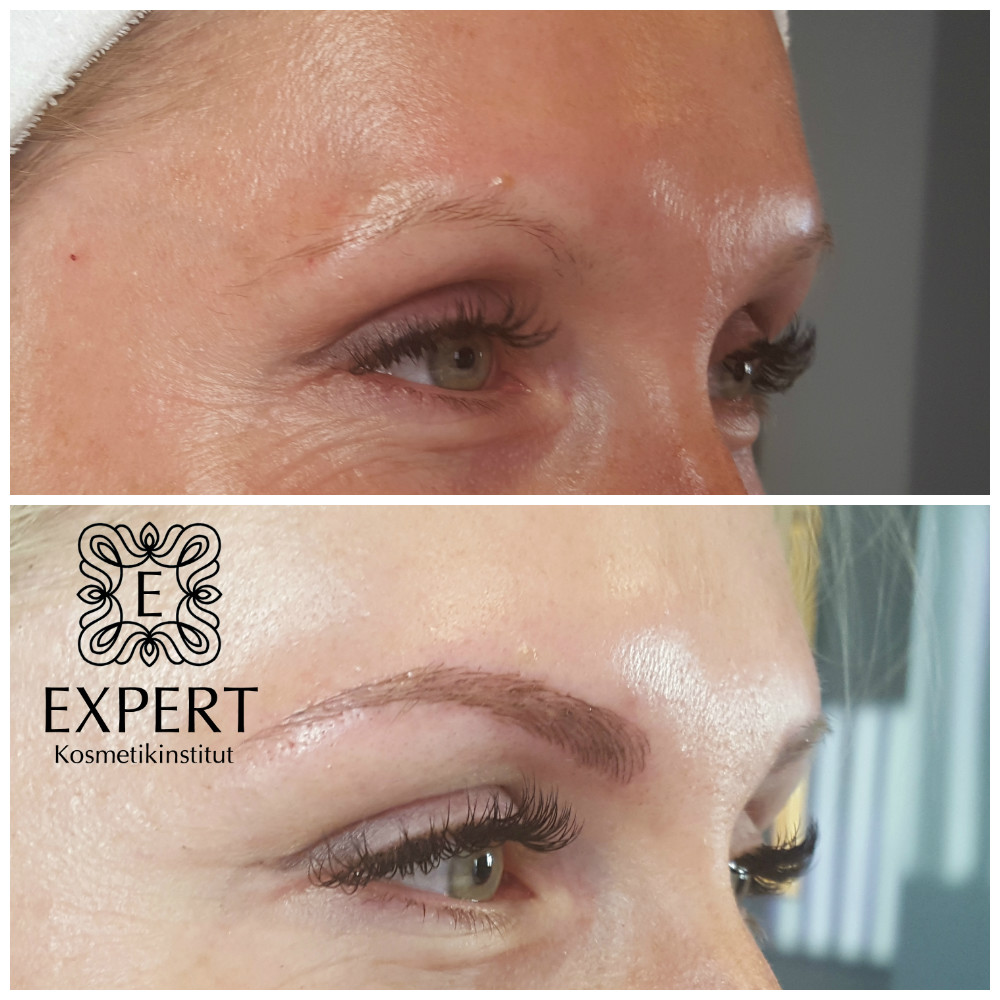 Permanent Make-up Augenbrauen Microblading 44