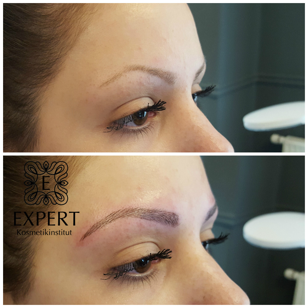 Permanent Make-up Augenbrauen Microblading 45
