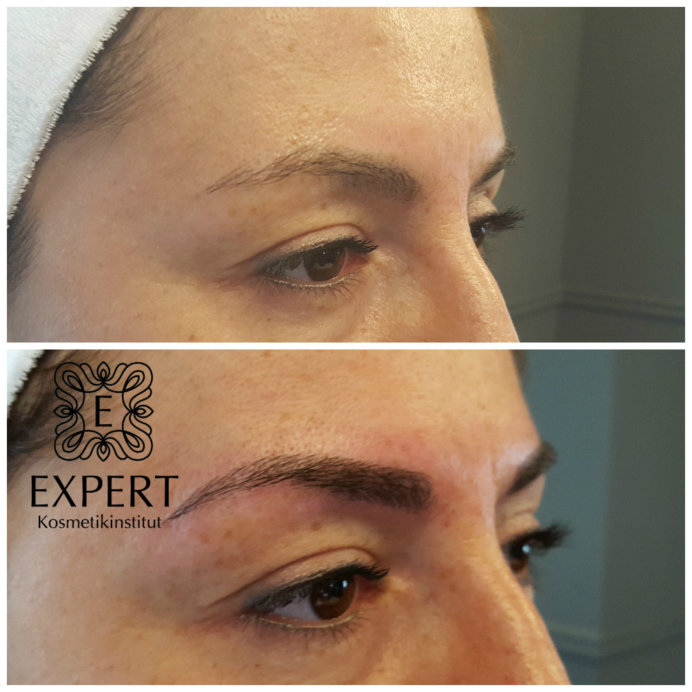 Permanent Make-up Augenbrauen Microblading 46