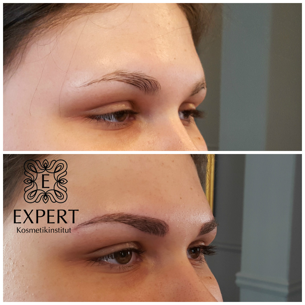 Permanent Make-up Augenbrauen Microblading 47