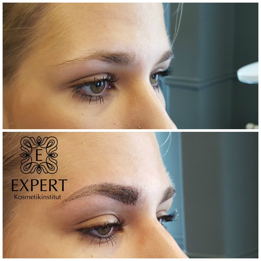 Permanent Make-up Augenbrauen Microblading 49